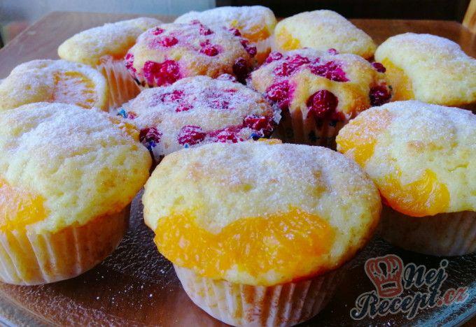 Rychlé tvarohové muffiny s ovocem