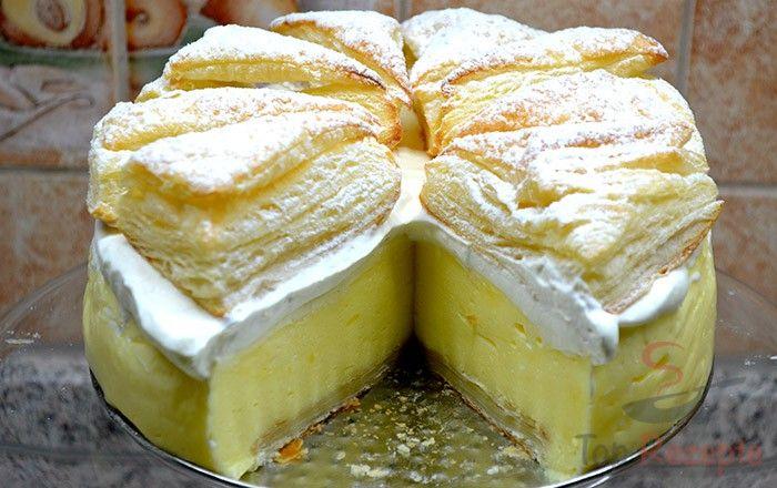 Velmi oblíbený KRÉMEŠ dort