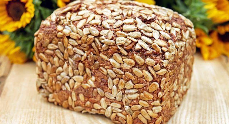 Semienkový chlieb bez múky