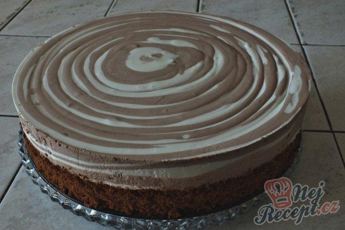 Famózní tvarohový ZEBRA dort