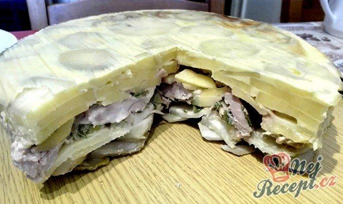 Bramborové lasagne