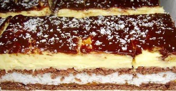 Vanilkovo- kokosová dobrota z chladničky: Dlho som nejedla chutnejšiu dobrotu!