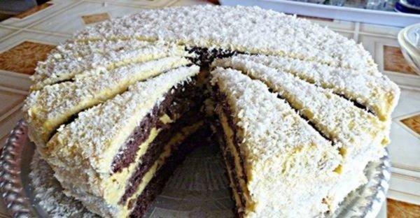 Z tejto maškrty nepriberiete ani gram a zje sa takmer okamžite: Zdravá fitness kokosová torta!